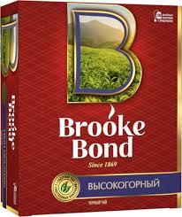 "<b>Чай</b> в пакетиках <b>Brooke Bond</b> ""Высокогорный"" <b>черный</b>, 100 шт ..."