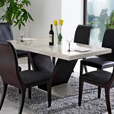 marble top dining table set inta dev
