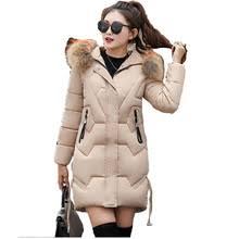 Зимняя <b>куртка</b>-парка <b>Женская</b> Корейская свободная модная ...