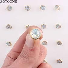 <b>ZOTOONE 50Pcs</b> Metal Buttons For Clothing Scrapbooking DIY 1 ...