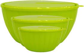 """<b>Набор</b> салатников Giaretti """"Fiesta"""", с <b>крышками</b>, цвет: оливковый ..."""