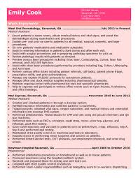 Free Medical Administrative Assistant Resume Healthcare