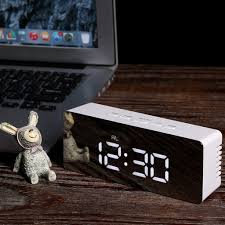 New <b>Creative LED Digital Alarm</b> Clock Night Lamp Thermometer ...