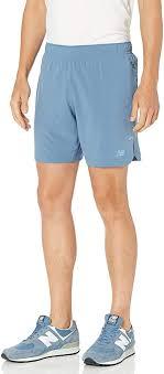 New Balance <b>Q Speed Run</b> Men's <b>Crew</b> Shorts: Amazon.de ...