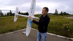 <b>Радиоуправляемый самолет</b> Dynam Hawk Sky .... сборка и полет ...