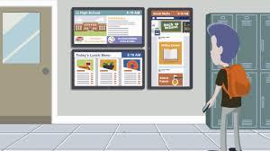 Электронные <b>информационные экраны</b> для школ, колледжей и ...