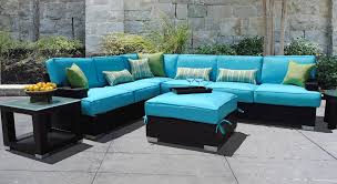 outdoor wicker patio furniture resin wicker furniture sets sofa blue for outdoor cheap plastic patio furniture