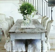 french shabby chic dining room table chic dining room table