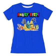 """Женские футболки c уникальными принтами """"<b>angry birds</b> ..."""