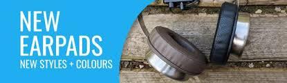 <b>New PU Leather</b> Round XL Earpads - Brainwavz Audio