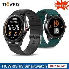New <b>TICWRIS RS Smart</b> Watch Band IP68 Waterproof Heart Rate ...