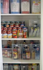 upper kitchen cabinets pbjstories screenbshotb: please clear magazine holders with pull handles are an interesting way to organize pantry items