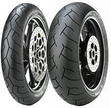Pair of Front Tyre <b>Diablo</b> for Honda <b>CB</b> 600 °F Hornet Size 130/70 ...