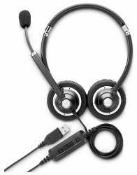 HP K7V17AA - <b>HP UC Wired headset</b>
