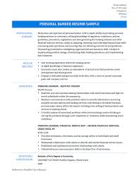 cover letter personal banker resume example licensed personal cover letter personal banker sample resume mid level nurse personal experiencepersonal banker resume example extra medium
