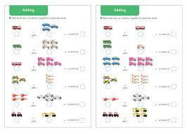 Vehicle Themed Adding Maths Worksheets   Free Early Years ...Vehicle Themed Adding Worksheets