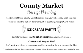 john w reiley elementary school it s time for a county market receipt roundup gather your receipts less than 6 months old and hand in to earn money for reiley