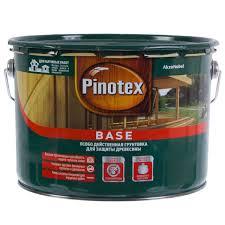 <b>Грунт</b> деревозащитный <b>Pinotex Base 9 л</b> в Москве – купить по ...