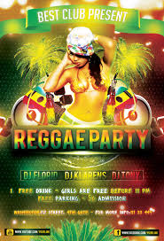 reggae party flyer psd template photoshop templates reggae party flyer psd template photoshop