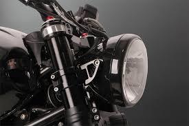 """ABM <b>front light</b> holder includit <b>Front light</b> 6,5""""ca. O 160 mm, clubSport"""