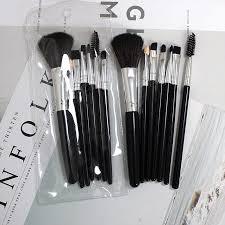 Buy <b>7PCS Makeup</b> Brushes Set <b>Portable Eyeliner</b> Eyelash Eyebrow ...
