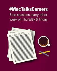 career exploration student success centre sessions every other week on thursday and friday