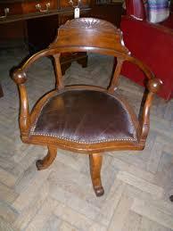 antique oak office desk chair antique wooden desk chair