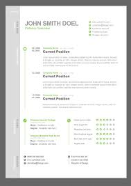 best resume design templates themecot cv resume psd template