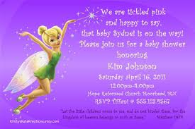 disney s tinkerbell fairy baby shower invitation or 128270zoom