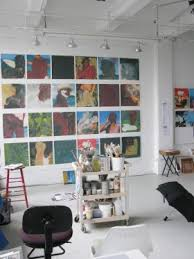 inside the artists studio artists studio lighting