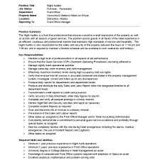 sample resume resume template hotel night auditor job auditor jobs sample resume resume internal auditors job description