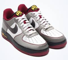 nike air force 1 low dusty greymetallic pewter cherrywood red 488298 074 cherry air force 1