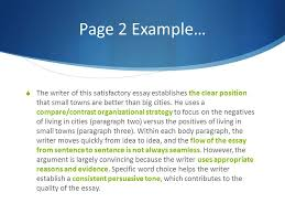 line persuasive essay tips and tricks for a great score    the writer of this satisfactory essay establishes the clear position that small towns are better