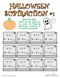 1st Grade Halloween Worksheets & Free Printables | Education.com1st Grade · Worksheet. Halloween Subtraction