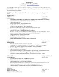 entry level staff accountant resume examples best business template sample staff accountant resume sample senior accountant inside entry level staff accountant resume examples