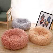 <b>Long Plush</b> Super <b>Soft Dog Bed</b> Dog Cat nest Washable <b>Plush</b> Pet ...