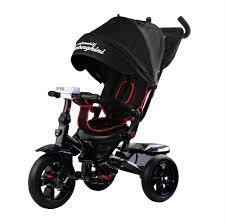 <b>Ламборджини</b> L5 <b>Panorama</b>, черный – <b>велосипед трехколесный</b> ...