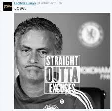 Jose Mourinho virals: Memes mock Chelsea boss | Daily Mail Online via Relatably.com