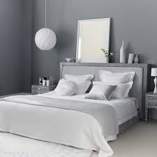 grey themes wall decoration and white beds furniture in modern bedroom interior design ideas bedroom designs with white furniture