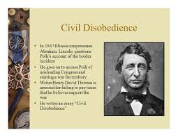 manifest destiny  belief that the united states is destined to 22 civil disobedience