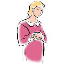 Znalezione obrazy dla zapytania pregnant clipart