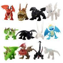 <b>12</b> шт., 4-6 <b>см</b>, приручите 3 фигурки, игрушки, ярость, зуб без ...