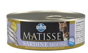 <b>Фармина Матисс</b> 85 гр <b>консервы</b> для кошек мусс с сардинами /5766