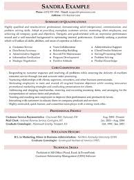 Resume Summary Examples   examples of qualifications for resume happytom co
