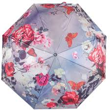 <b>Зонт Flioraj</b> 101215 FJ, 30 см, сатин, цвет фиолетовый — купить ...