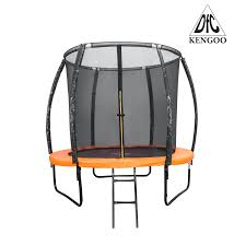 <b>Батут DFC</b> KENGOO 8 футов (244 см) внутр.<b>сетка</b>, лестница ...