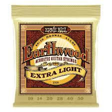 <b>Струны</b> для акустической <b>гитары ERNIE</b> BALL Earthwood 80/20 ...