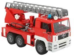 Пожарный автомобиль <b>Bruder MAN</b> с лестницей и помпой (02 ...