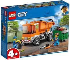 <b>Конструктор LEGO</b> City <b>Мусоровоз</b>, <b>60220</b>