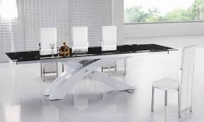Contemporary Black Dining Room Sets Contemporary Glass Tables Chairs Dining Table Contemporary Tables